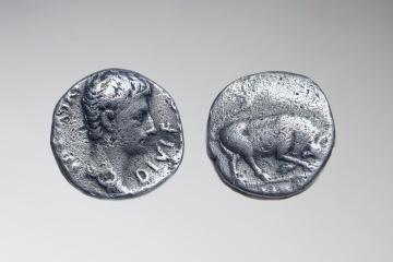 У Грузії знайшли денарій Октавіана Августа, датований 15 роком до нашої ери