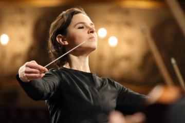 Oksana Lyniv, la primera mujer directora en el Festival de Bayreuth en Alemania