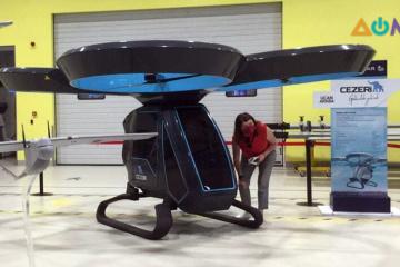 Перший летючий електромобіль випробували в Туреччині