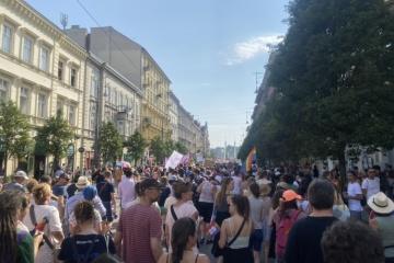 У Будапешті тисячі людей протестували через закон про ЛГБТ