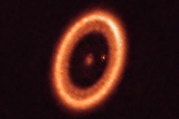 Астрономи вперше побачили пиловий диск навколо екзопланети