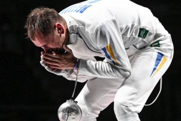 El esgrimista Reizlin gana el bronce de los Juegos Olímpicos de Tokio