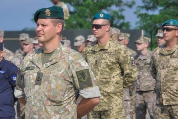 Agile Spirit 2021 con participación de marines ucranianos arranca en Georgia