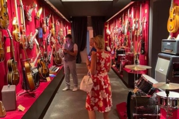 World's eighth electric guitar museum opens in Kyiv