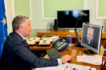 Zhovkva, adviser to North Macedonia president discuss security situation in eastern Ukraine