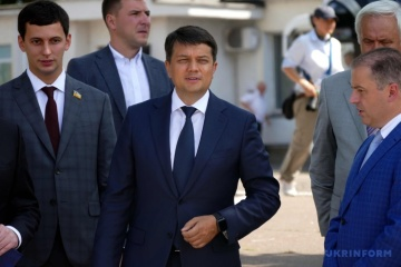 Razumkov says he had no conflicts with Servant of the People faction