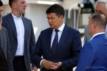 Razumkov has no plans to join any parliamentary factions or groups