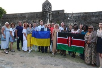 First Ukrainian-language audio guide launched in East Africa