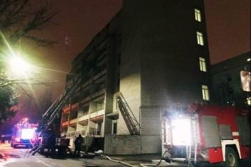 В Запорожье уволили директора больницы, где произошел смертельный пожар
