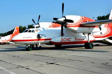 Ucrania envía aviones a Turquía para extinguir incendios forestales