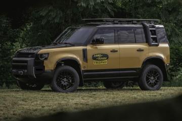 Land Rover представив потужний позашляховик із камерами на 360°