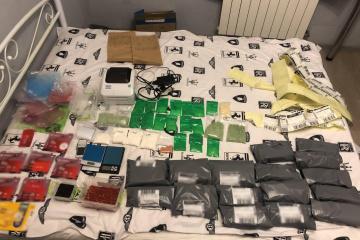 Збували психотропи через інтернет: у Києві викрили потужну нарколабораторію