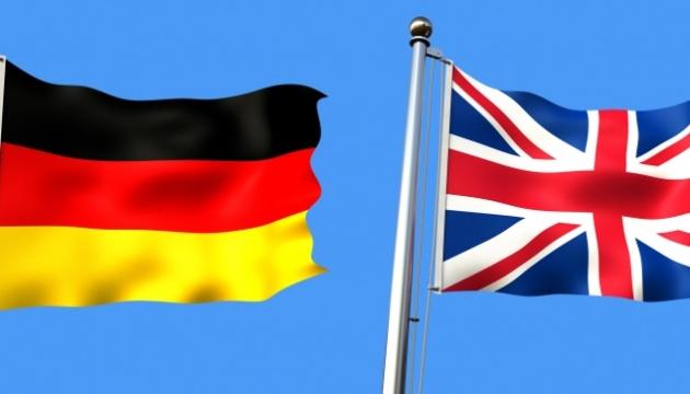Берлін і Лондон заявили про підтримку Мінського процесу та реформ в Україні