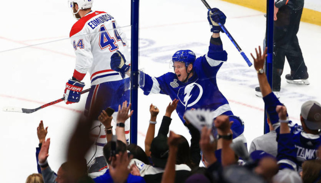 НХЛ: «Тампа-Бей» виграла другий матч у «Монреаля» у фіналі Кубка Стенлі