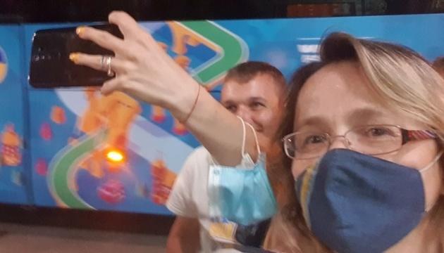 Діаспора зустріла українську футбольну збірну в Римі