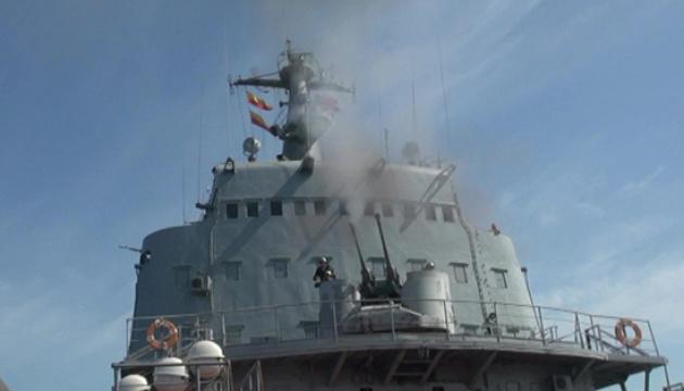 Російські кораблі, паралельно з Sea Breeze, провели бойові стрільби в Чорному морі