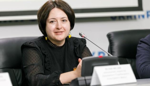 Первый руководитель УКФ Юлия Федив возглавила hromadske