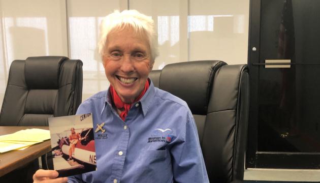Вместе с Безосом в космический полет отправится 82-летняя летчица