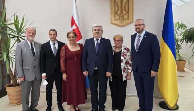 У Словаччині відбулося урочисте прийняття з нагоди ювілею Конституції України