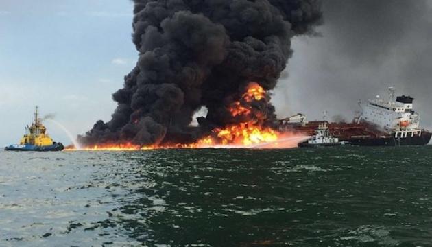 В Мексиканском заливе под водой горит нефтяной трубопровод