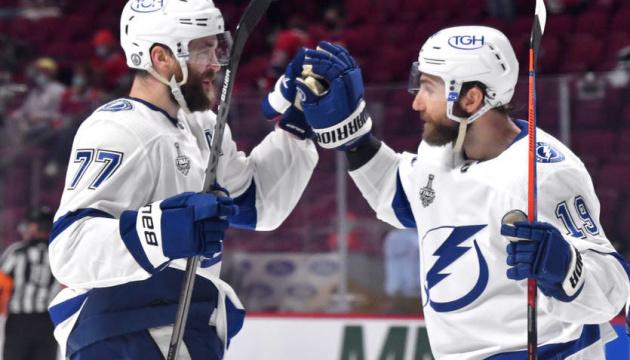 НХЛ: «Тампа-Бей» виграла третій матч у «Монреаля» в фіналі Кубка Стенлі