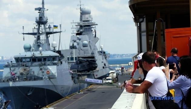 Sea Breeze-2021: в одеський порт прибули кораблі постійної морської групи НАТО