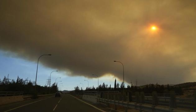 Кипр просит ЕС и Израиль помочь обуздать масштабный лесной пожар