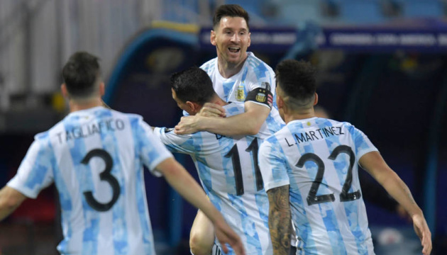 Кубок Америки: Аргентина розгромила Еквадор, Колумбія обіграла Уругвай в 1/4 фіналу