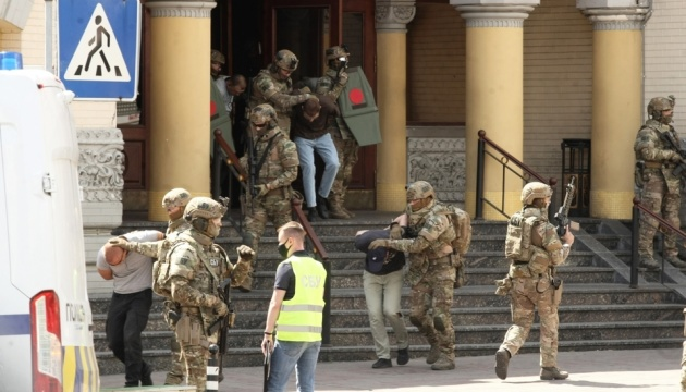В Киеве в ходе антитеррористических учений «освободили» посла Израиля