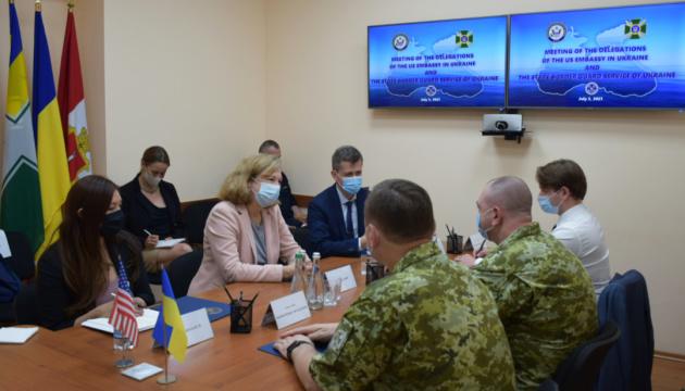Квін обговорила з керівництвом ДПСУ наслідки агресії РФ на кордонах України