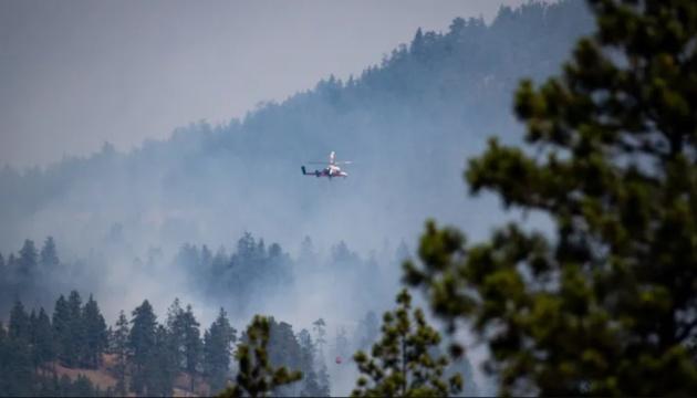 Лесные пожары в Канаде повредили железнодорожные ветки и задержали поезда