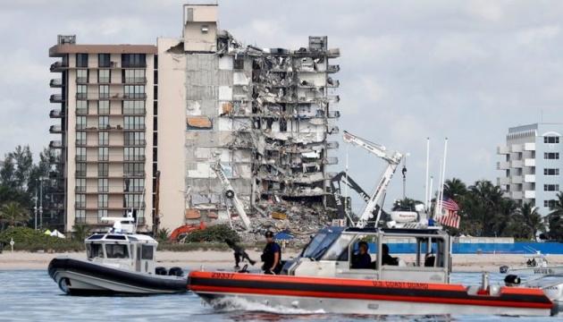 Обрушения дома в Майами: количество погибших достигло 86 человек