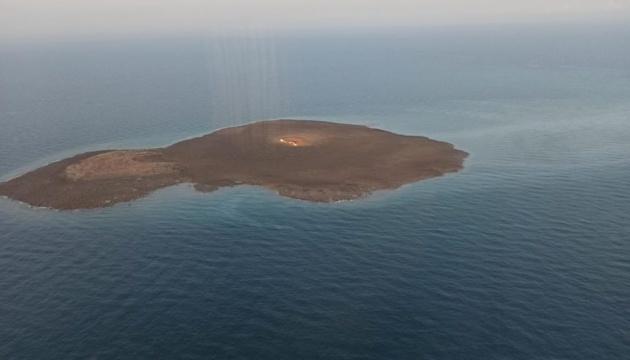 Горящий грязевой вулкан в Каспийском море постепенно затухает - SOCAR