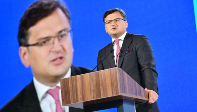 Kuleba: Ukraine submits proposals for countering Russia's dominance in Black Sea to partners