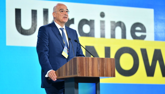 Греція підтримує курс на ЄС і НАТО та реформи в Україні - глава МЗС
