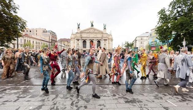 Львівська опера влаштувала парад з нагоди завершення театрального сезону