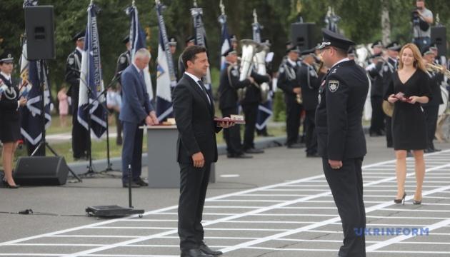 Зеленський взяв участь в урочистостях з нагоди Дня Національної поліції