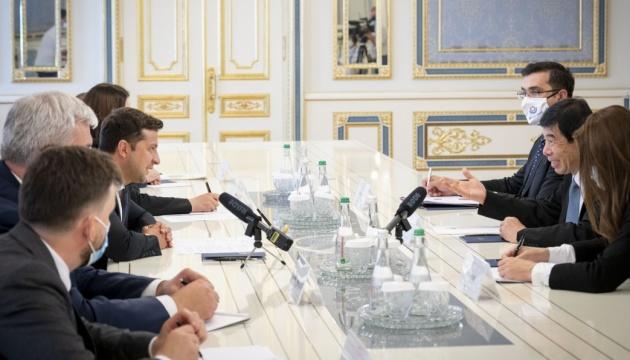 Зеленский встретился с генсекретарем Всемирной таможенной организации