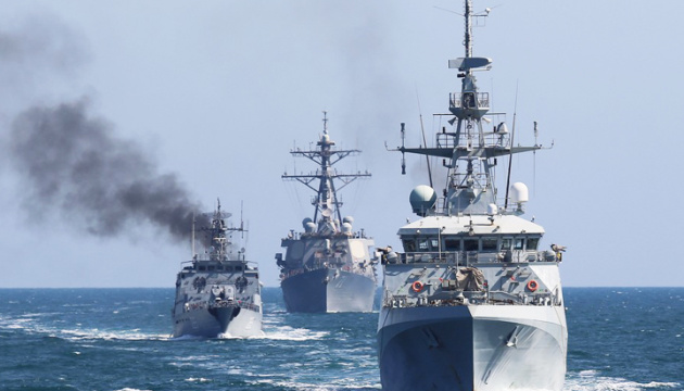 Repulsing attack at sea: First block of exercises practiced at Sea Breeze 2021