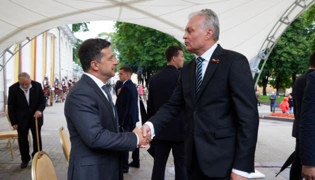 Zelensky: Ucrania y Lituania tienen valores y aspiraciones comunes