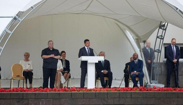 Verlässlicher Partner der Ukraine: Selenskyj bei Feierlichkeiten zu Tag der Staatsgründung in Litauen