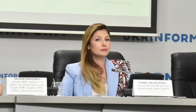 «Кримські» санкції запровадили проти понад 5,5 тисячі юридичних та фізичних осіб – Джапарова