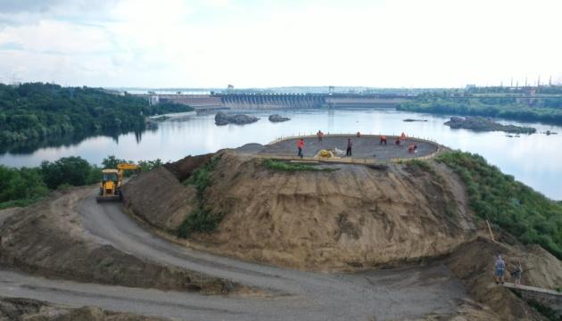 У Музея истории запорожского казачества до конца августа обустроят курган – Ткаченко