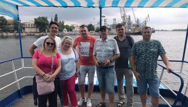 Туристические достопримечательности Херсонщины изучают туроператоры из Польши