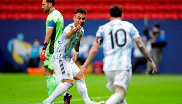 Аргентина по пенальті обіграла Колумбію і вийшла у фінал Кубка Америки