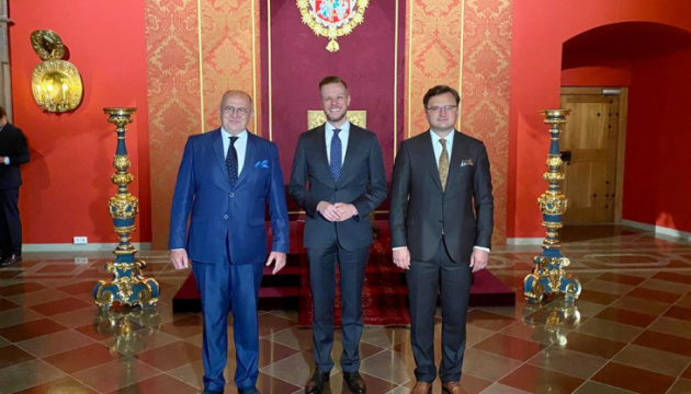 Lublin Triangle: Foreign ministers approve plan to counter Russian disinformation