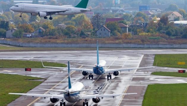 Аэропорт «Киев» объявил конкурс для художников «Раскрась самолет»