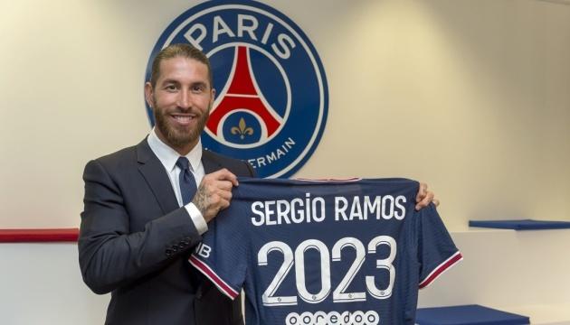 Серхіо Рамос офіційно став футболістом «ПСЖ»