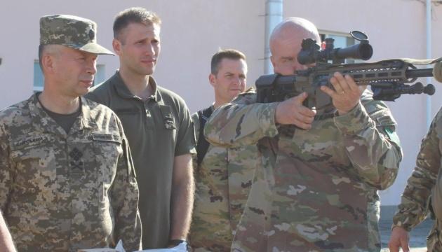 Представники НАТО ознайомилися зі структурою Сухопутних військ ЗСУ
