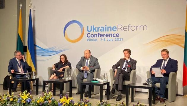 Реформи в Україні: Немчінов у Вільнюсі розповів, у яких сферах досягнули «певного прогресу»